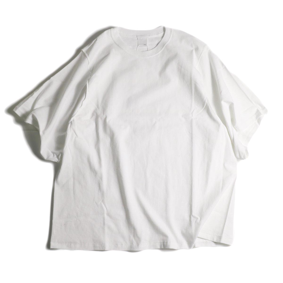 PRE_ / INSIDE OUT WIDE SLEEVE T (White)正面