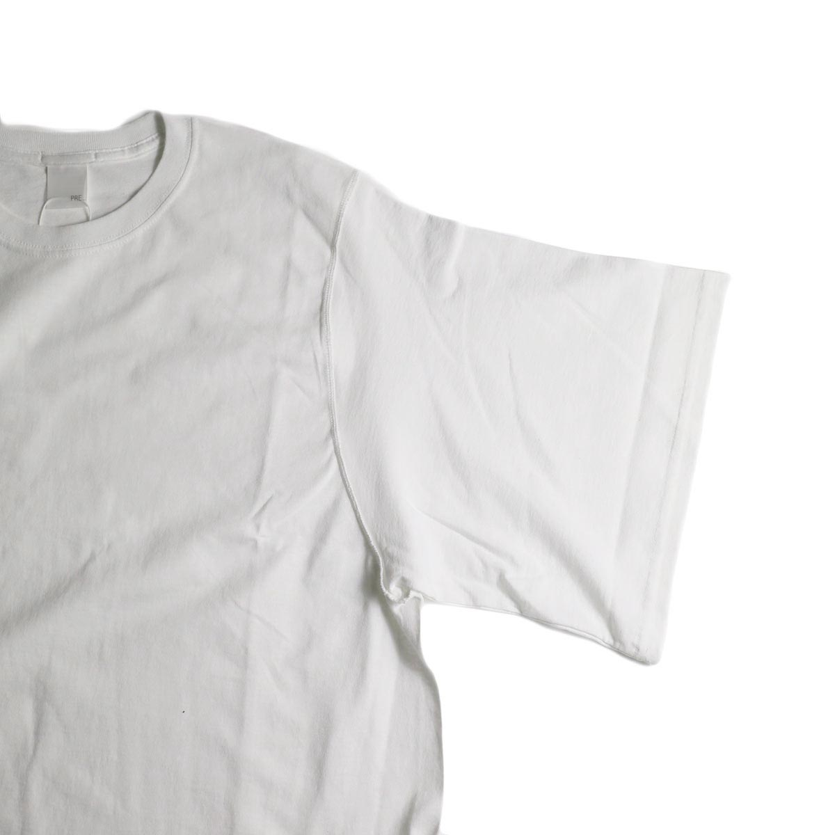 PRE_ / INSIDE OUT WIDE SLEEVE T (White)袖