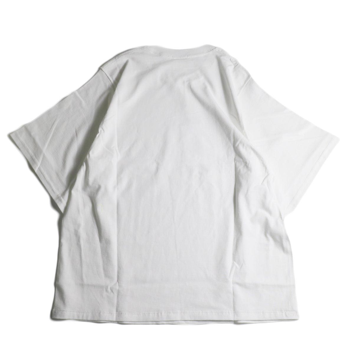 PRE_ / INSIDE OUT WIDE SLEEVE T (White)背面