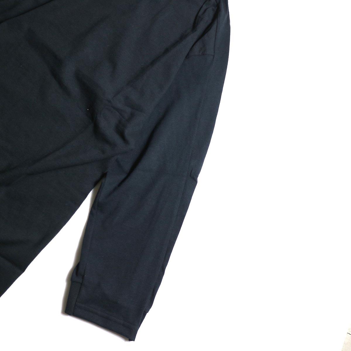 PRE_ / LINE 3/4 SLEEVE LS T (Black)袖