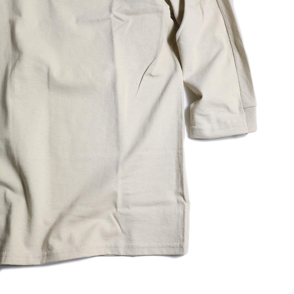 PRE_ / LINE 3/4 SLEEVE LS T (Sand)袖、裾