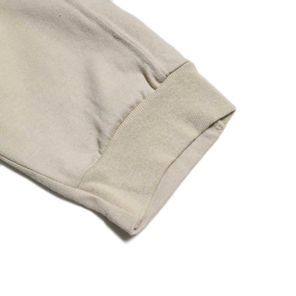 PRE_ / LINE 3/4 SLEEVE LS T (Sand)袖口