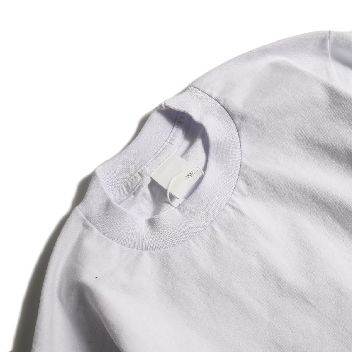 PRE_ / MKS LS T (White)襟