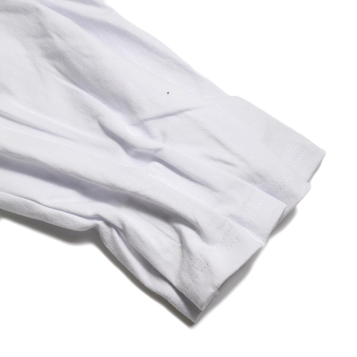 PRE_ / MKS LS T (White)袖