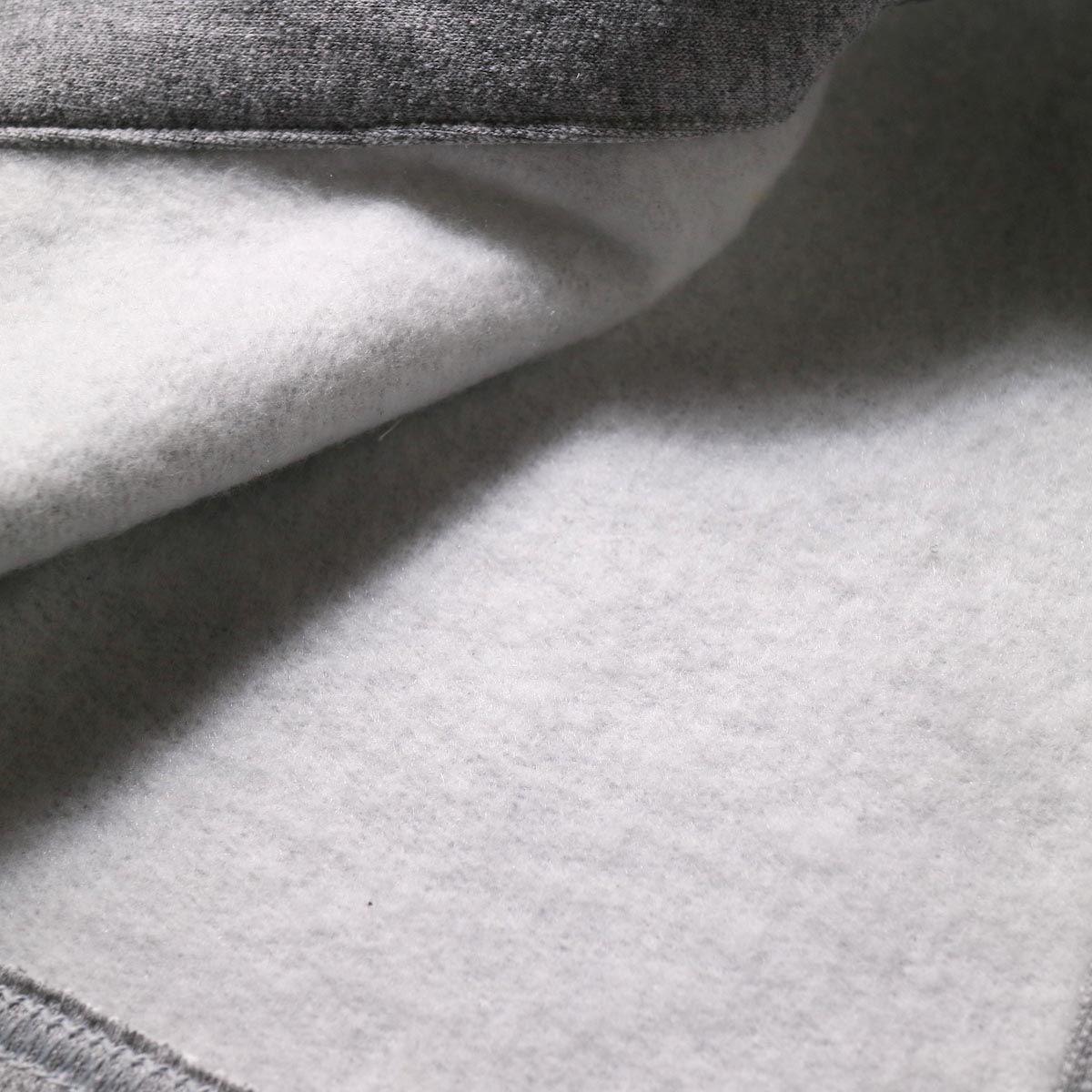 PRE_ / MOCK NECK SHORT (s.gray) 裏地