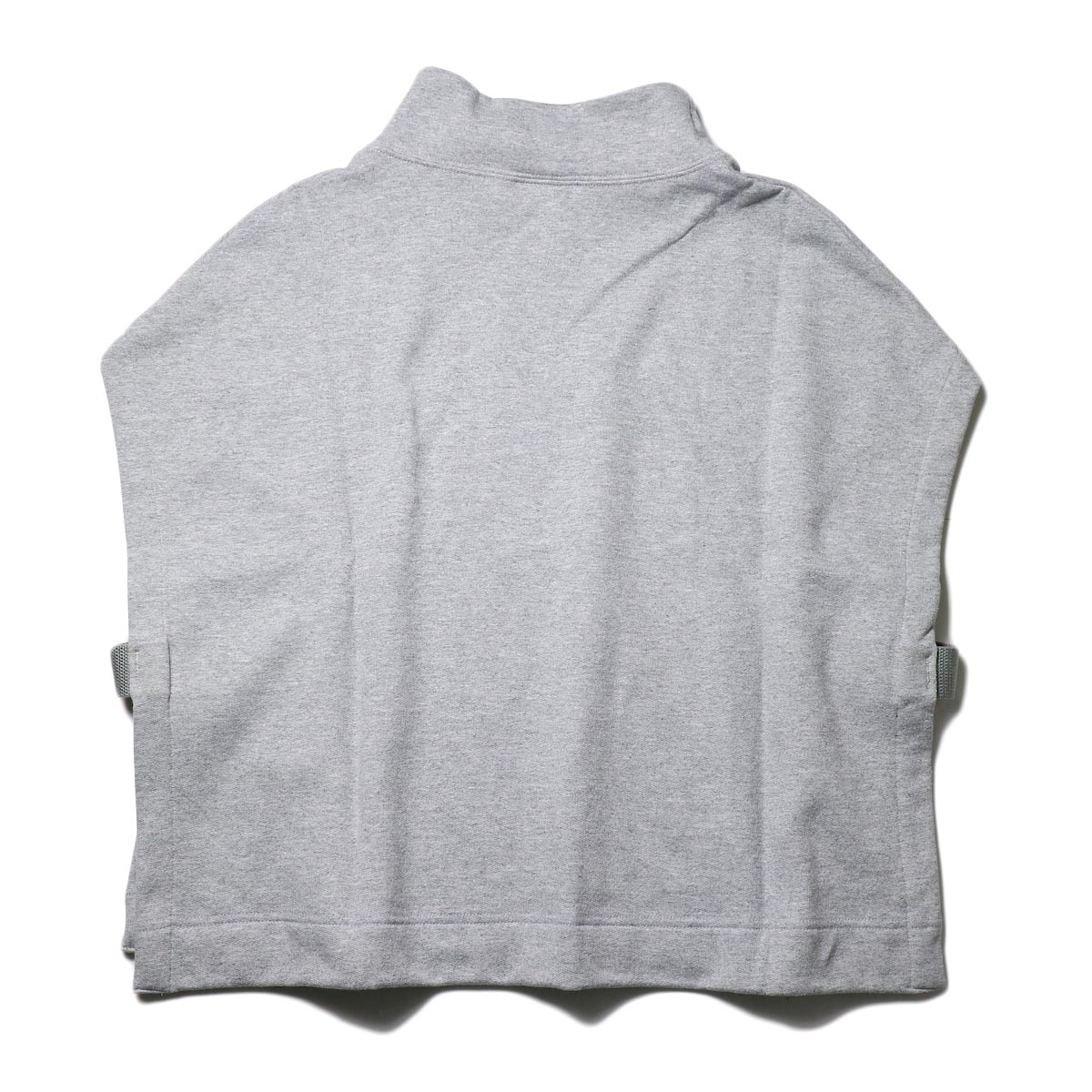 PRE_ / MOCK NECK SHORT (s.gray) 背面