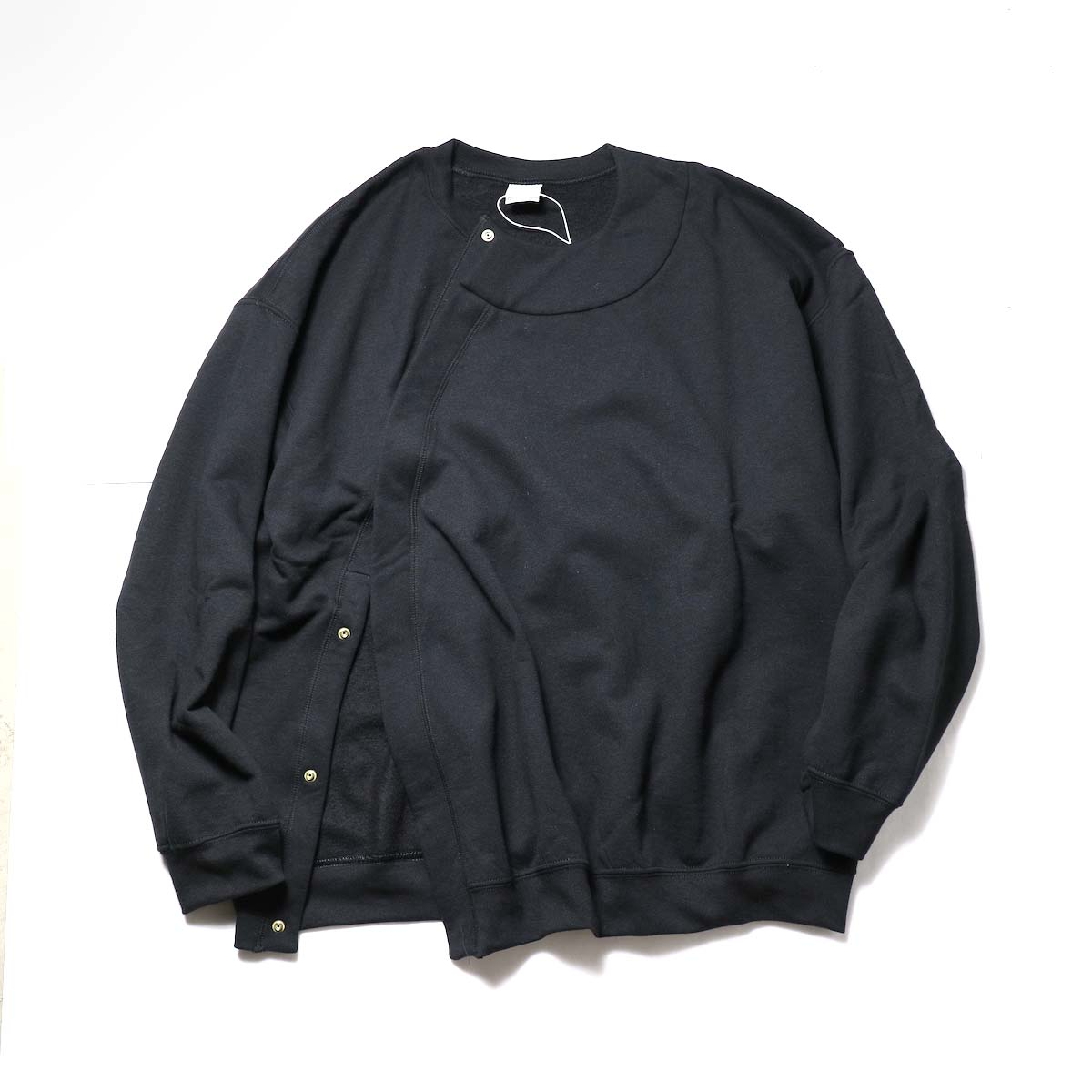 PRE_ / NNM CDG SWEAT (Black)正面
