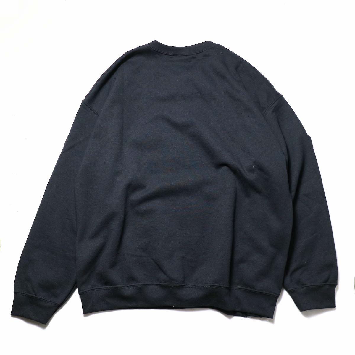 PRE_ / NNM CDG SWEAT (Black) 背面