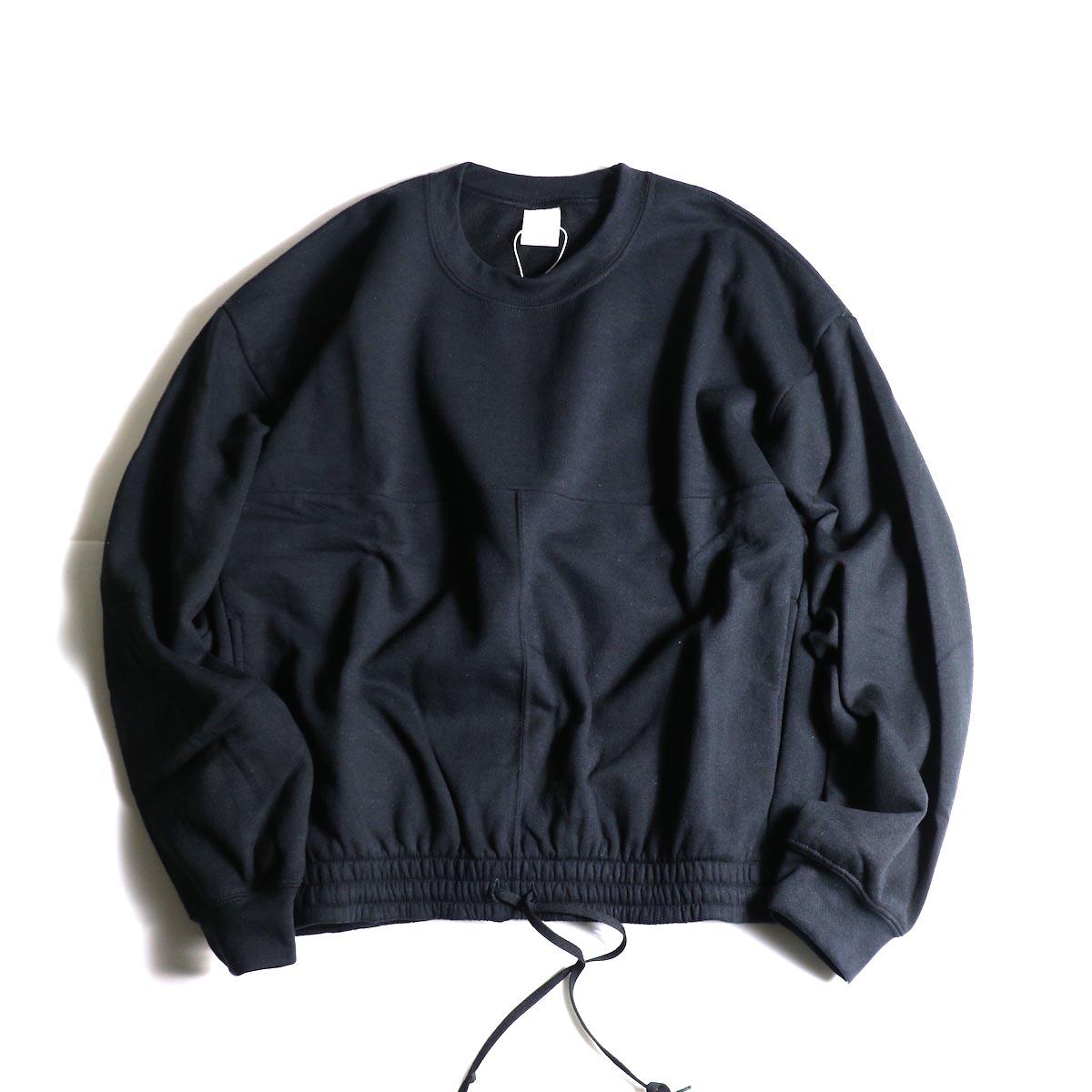PRE_ / P-STYLE SWEAT (Black)正面