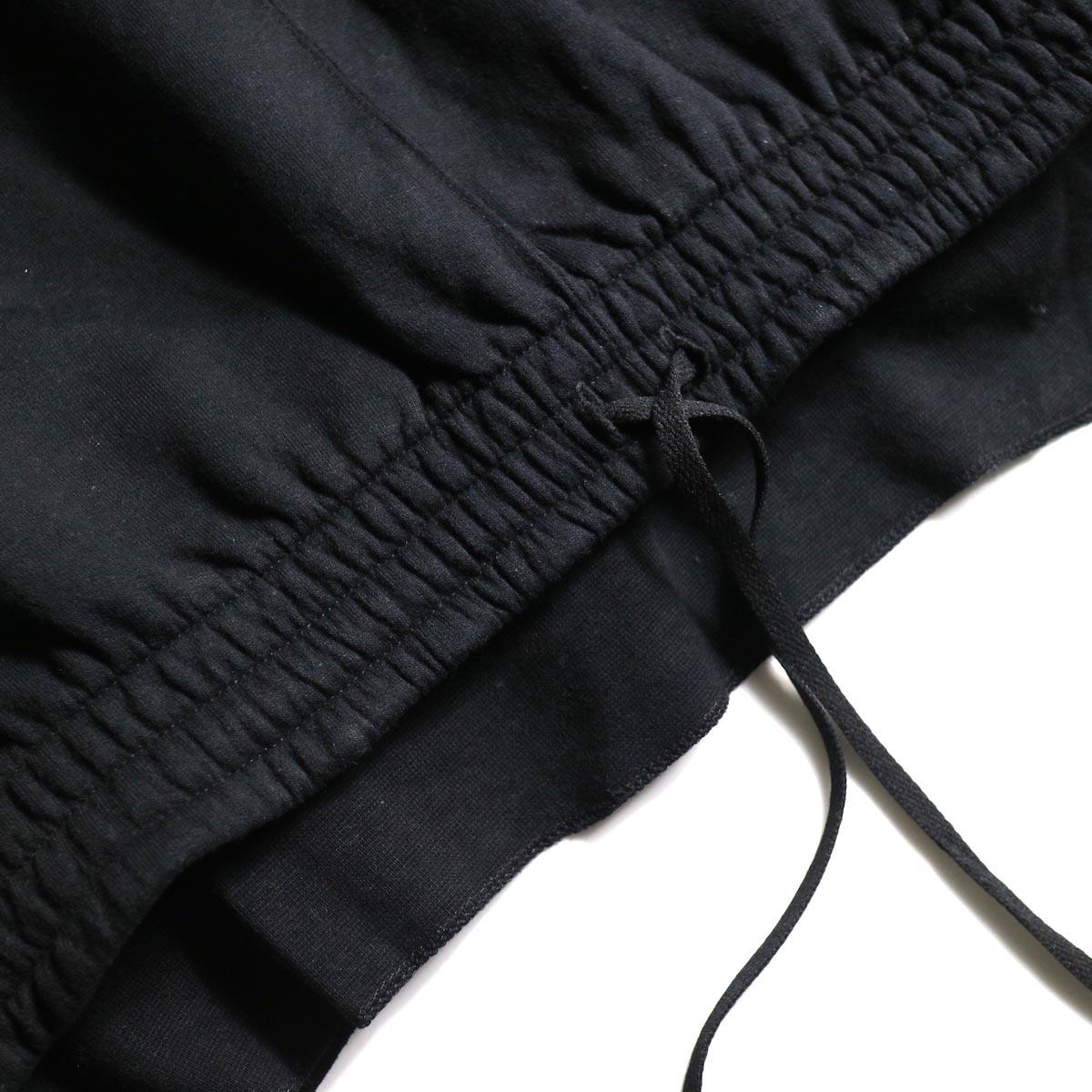 PRE_ / P-STYLE SWEAT (Black)裾