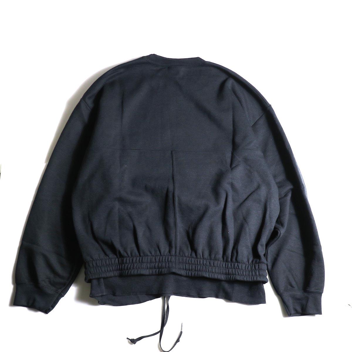 PRE_ / P-STYLE SWEAT (Black)背面