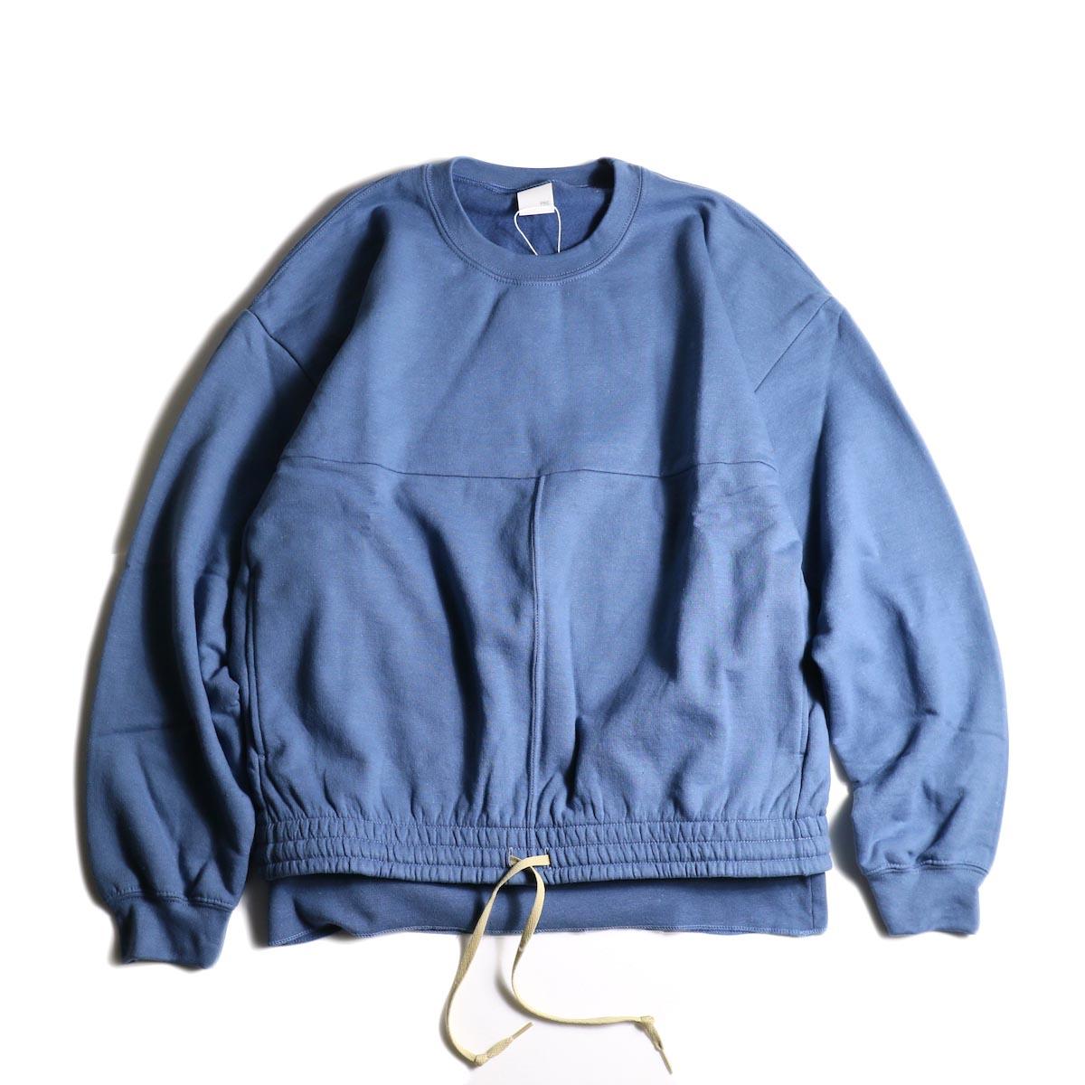 PRE_ / P-STYLE SWEAT (Indigo Blue)正面