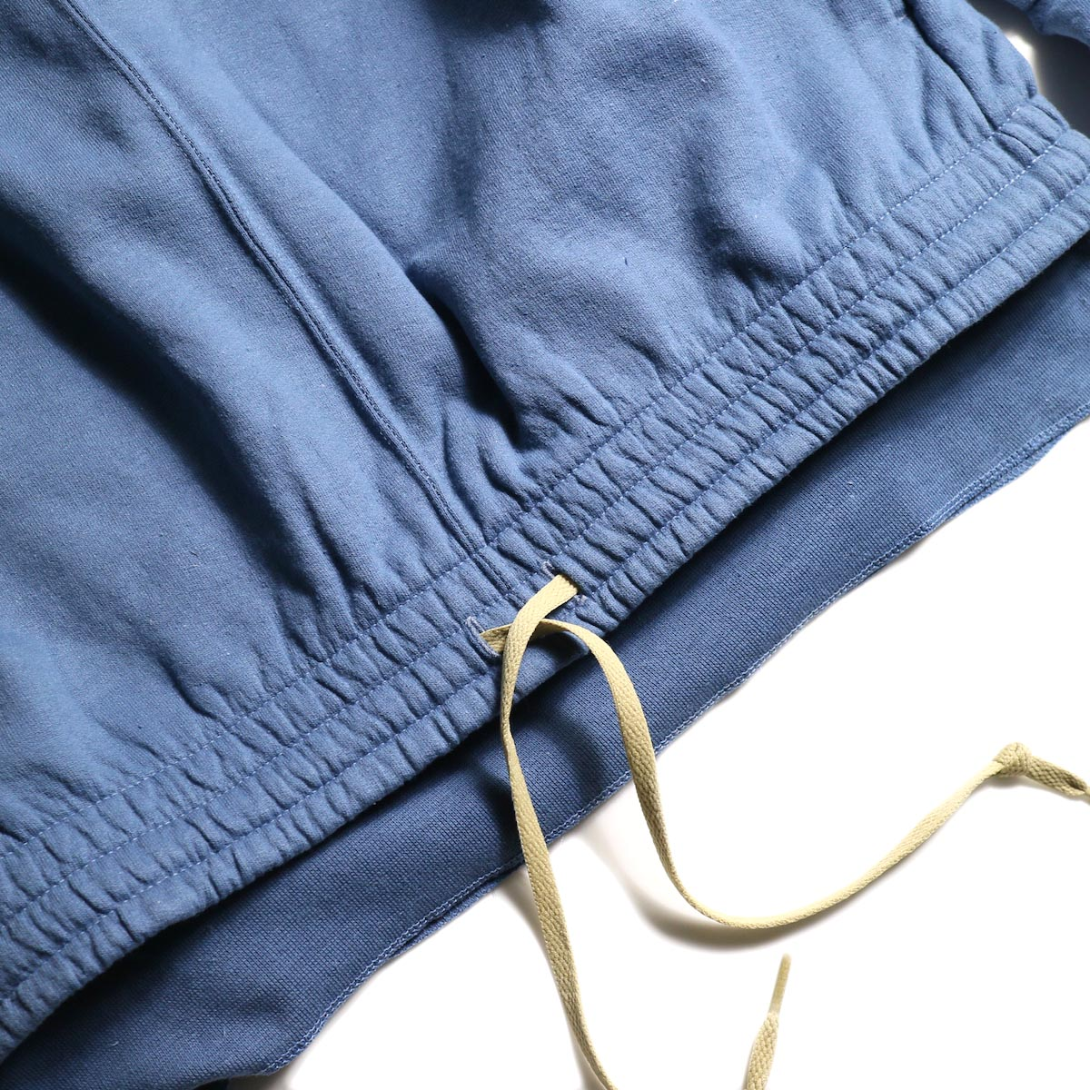 PRE_ / P-STYLE SWEAT (Indigo Blue)裾