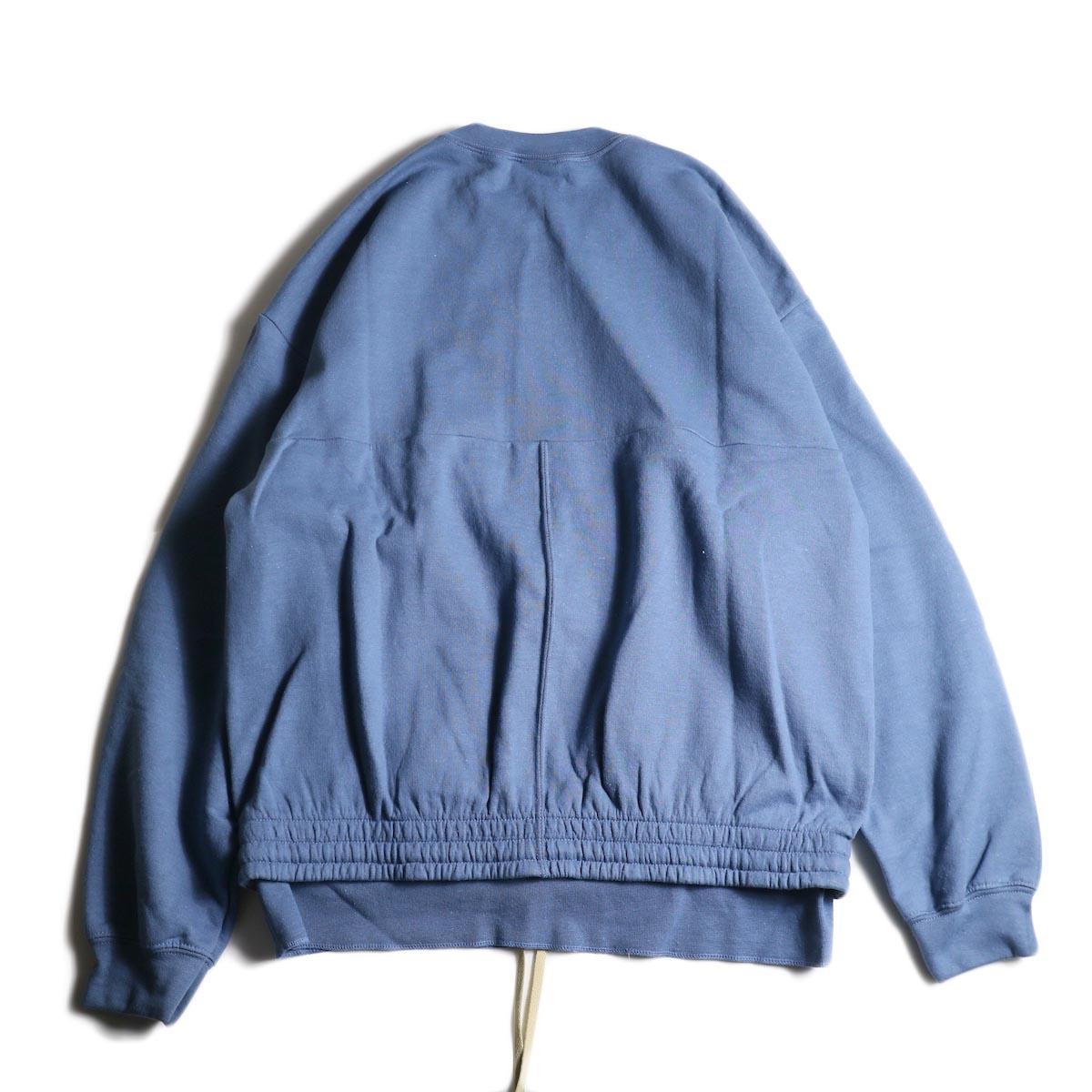 PRE_ / P-STYLE SWEAT (Indigo Blue)背面