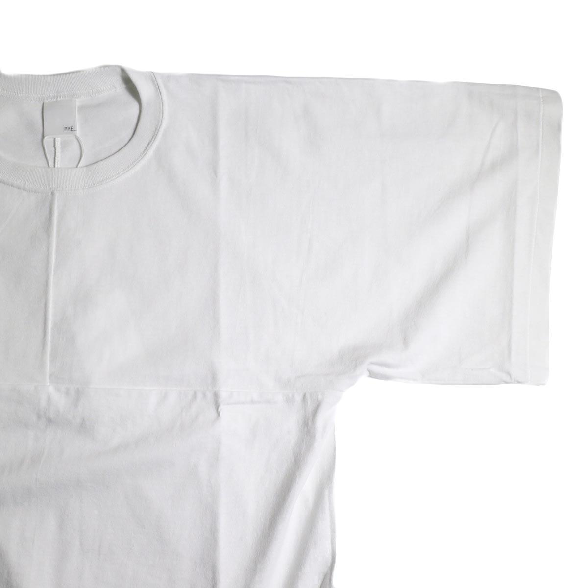PRE_ / T OF T (White)袖