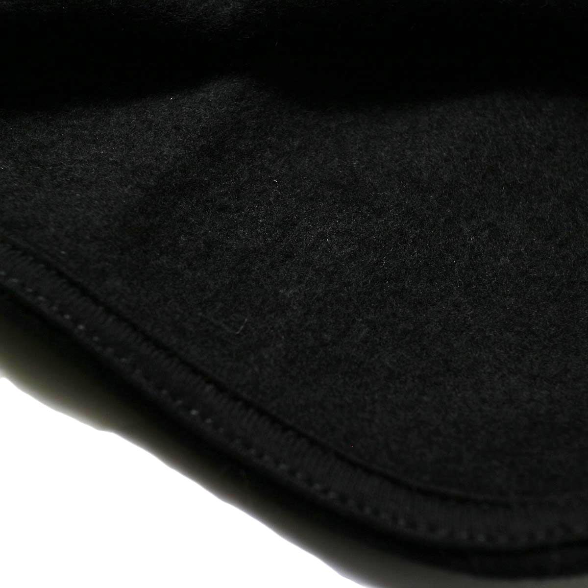 PRE_ / V ROUND SWEAT (black) 裏地