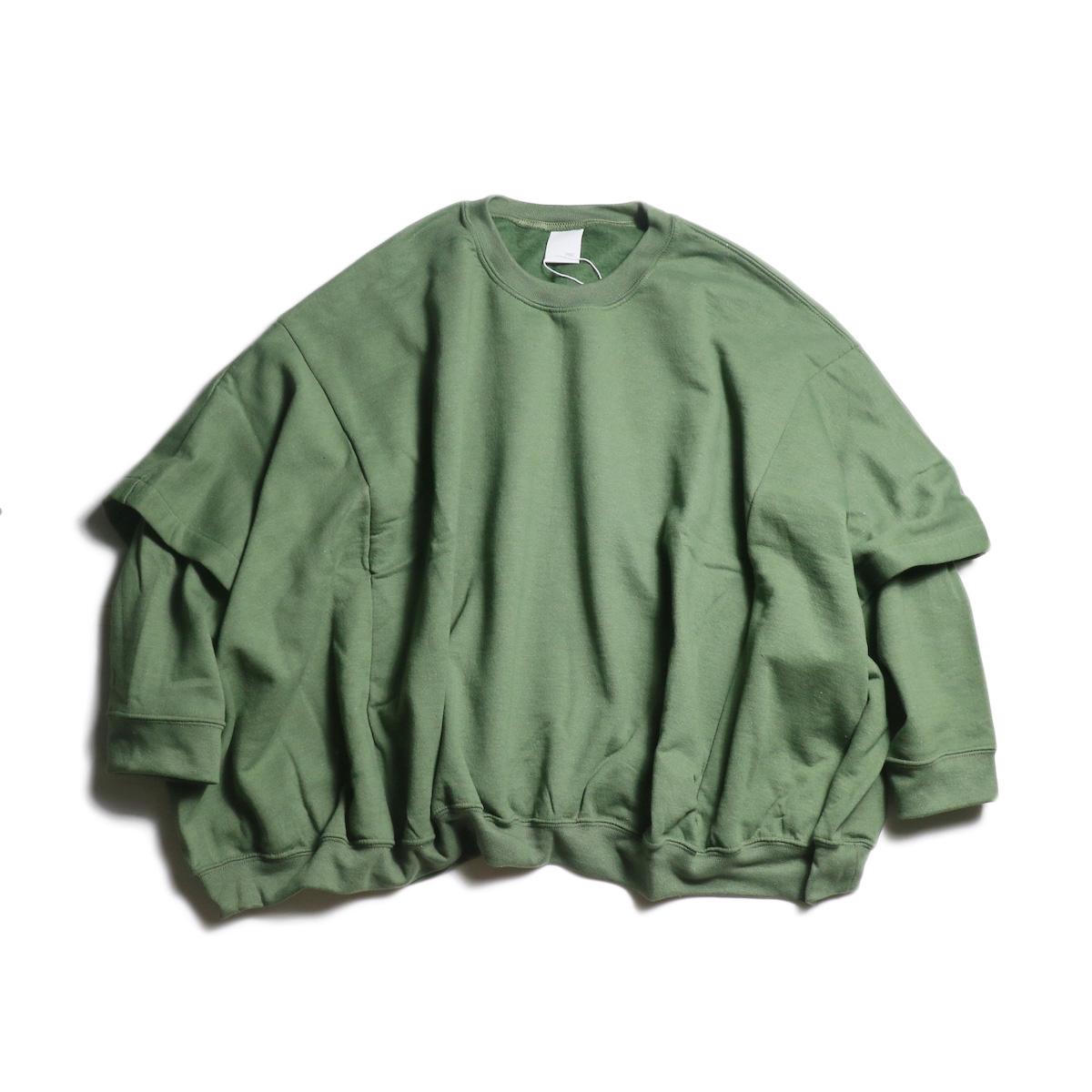 PRE_ / W PGM Sweat (Military Green)