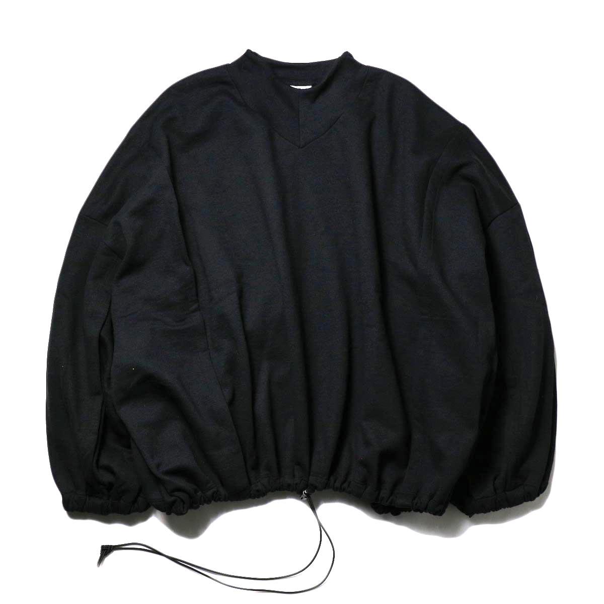 PRE_ / W2 V SWEAT (black)