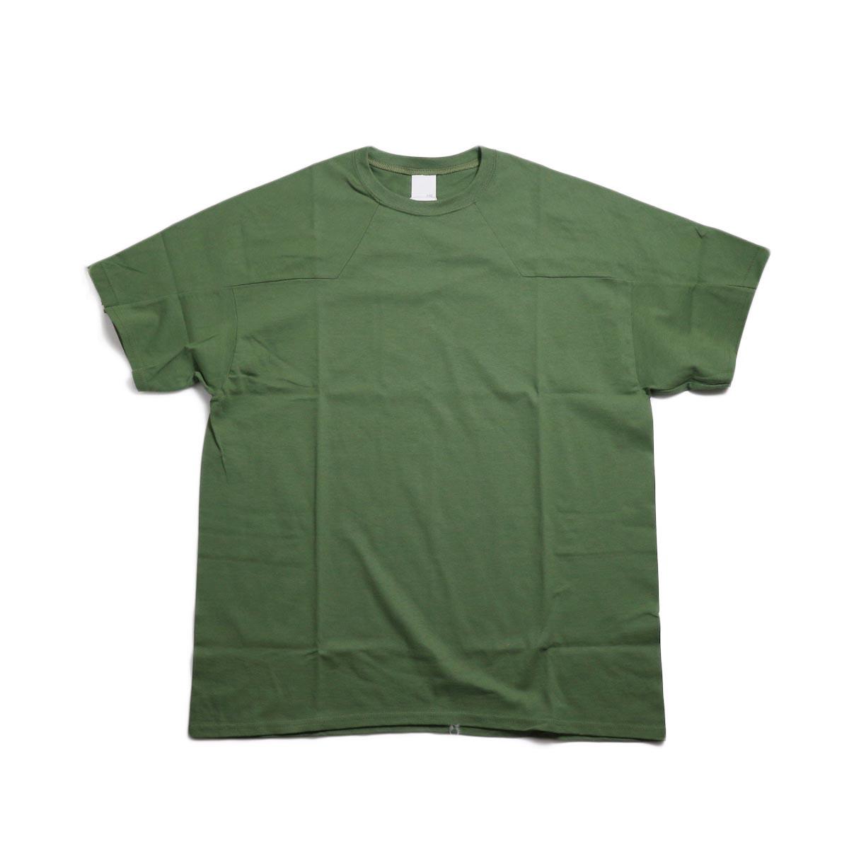 PRE_ Western FTB Tee -Military Green