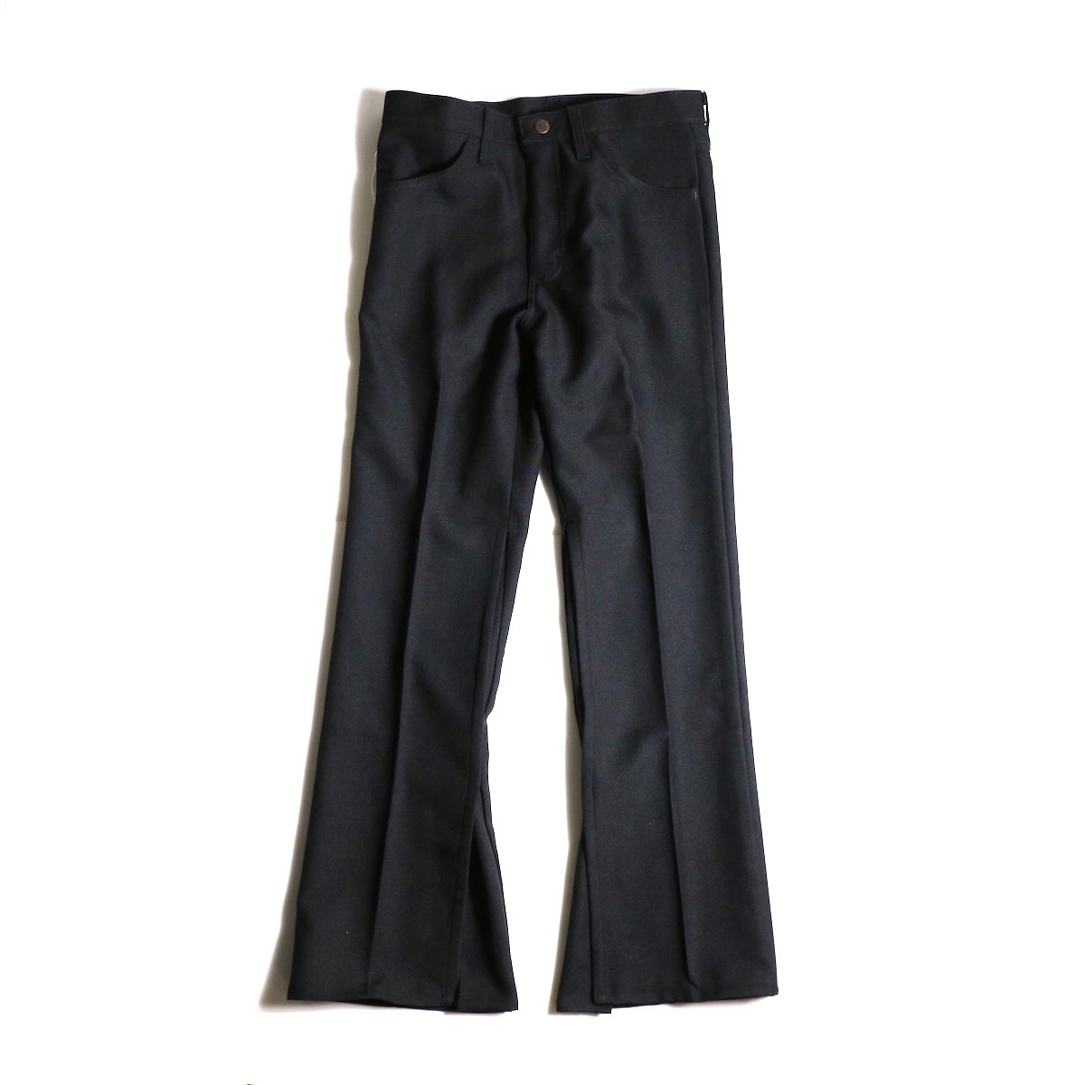 PRE_ / ZK OPEN PANTS (Black)正面