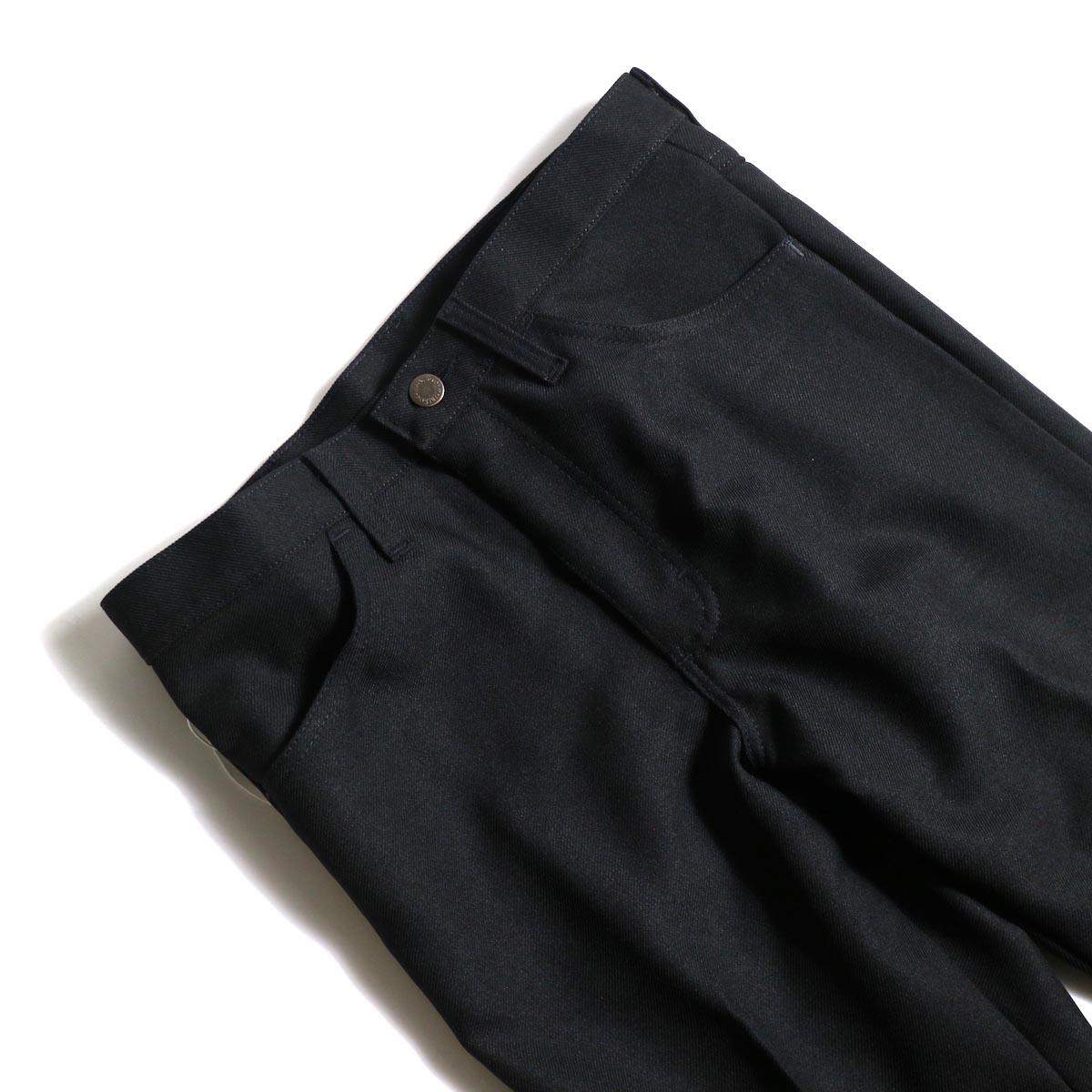 PRE_ / ZK OPEN PANTS (Black)ウエスト
