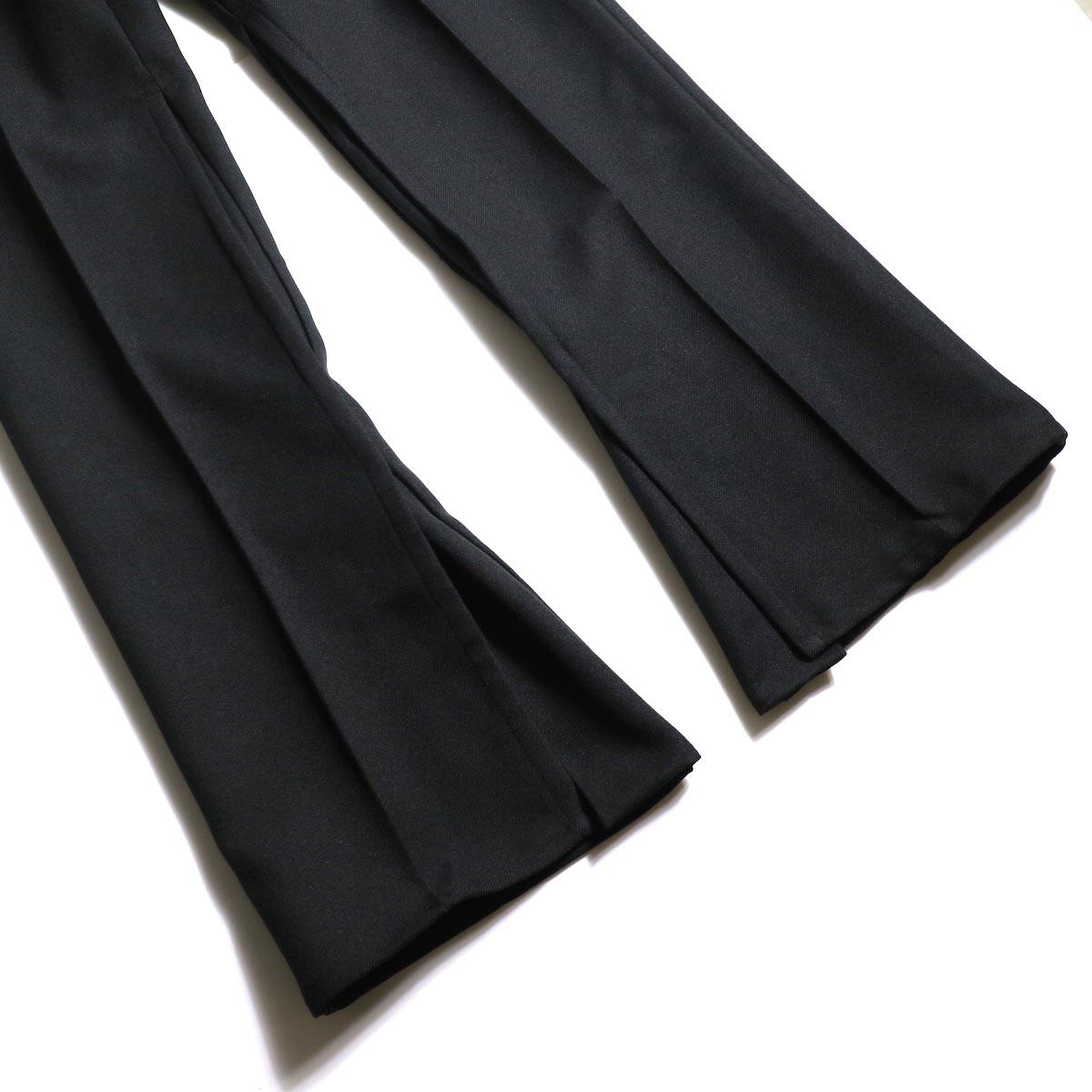 PRE_ / ZK OPEN PANTS (Black)裾