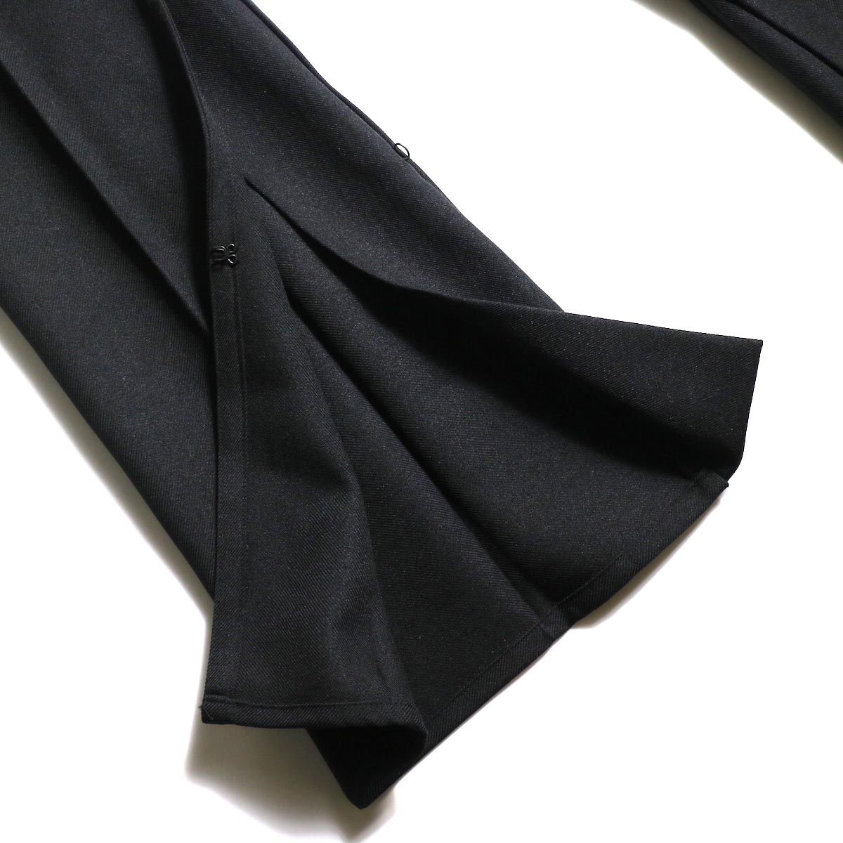 PRE_ / ZK OPEN PANTS (Black)フレア