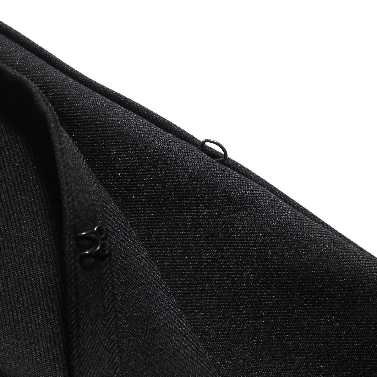 PRE_ / ZK OPEN PANTS (Black)フック