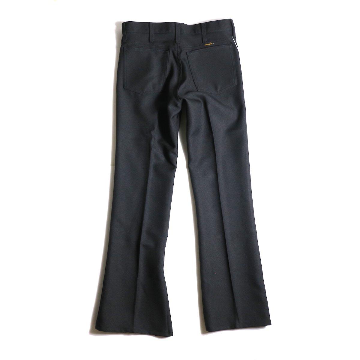 PRE_ / ZK OPEN PANTS (Black)背面