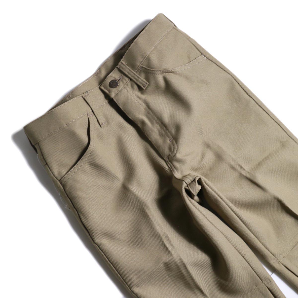 PRE_ / ZK OPEN PANTS (Tan)ウエスト