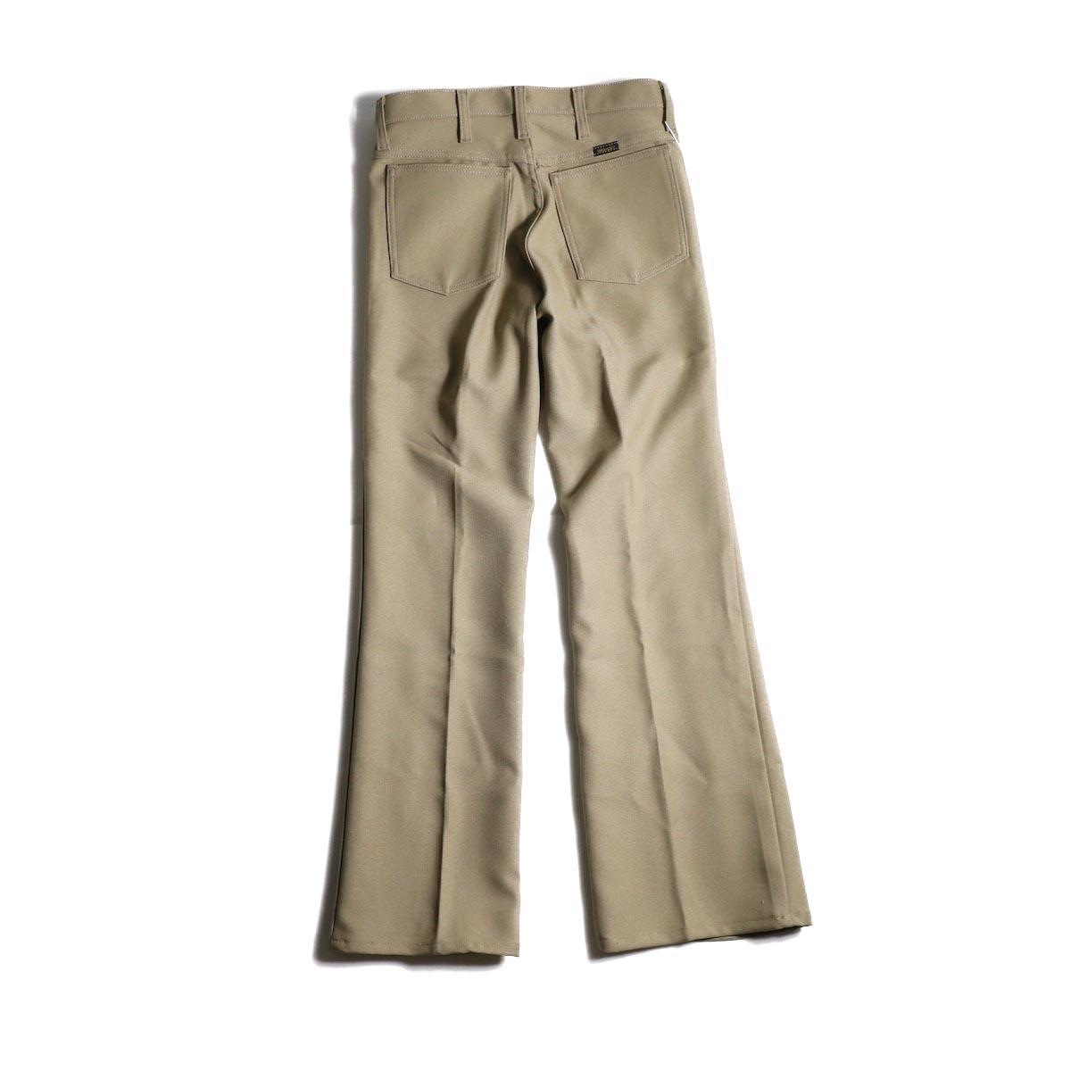 PRE_ / ZK OPEN PANTS (Tan)背面