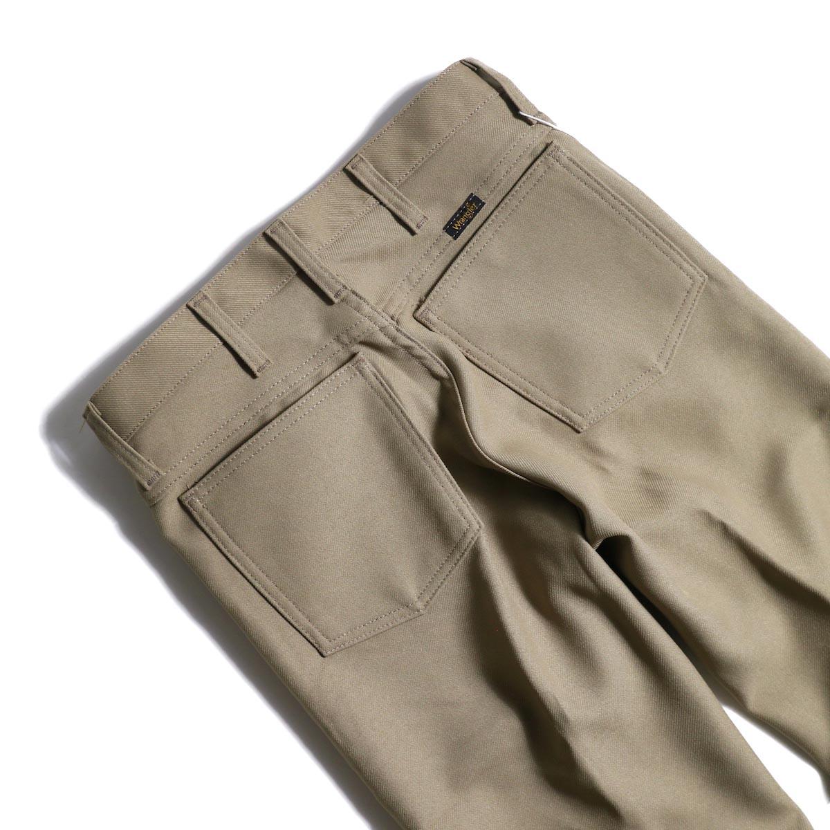 PRE_ / ZK OPEN PANTS (Tan)ヒップポケット