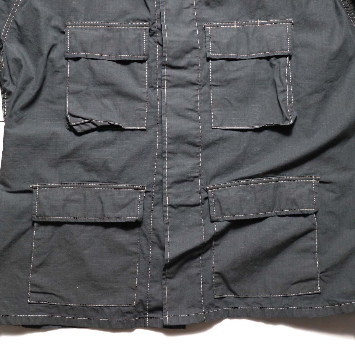 PROPPER OVER DYE BDU COAT (Charcoal)4ポケット