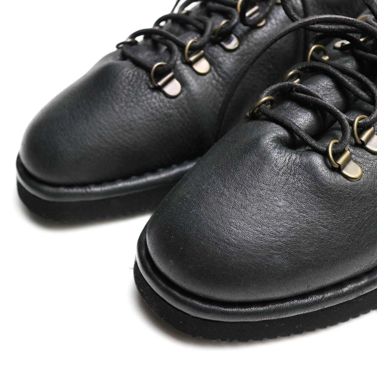 Punto Pigro / SOFT MOUTAIN BOOTS (black) アッパー