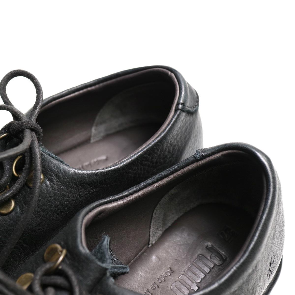 Punto Pigro / SOFT MOUTAIN BOOTS (black) 腰裏