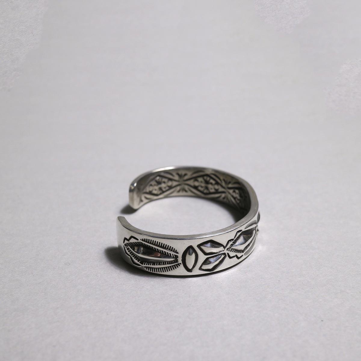RAY ADAKAI / Double Stamp Bracelet (B)横②