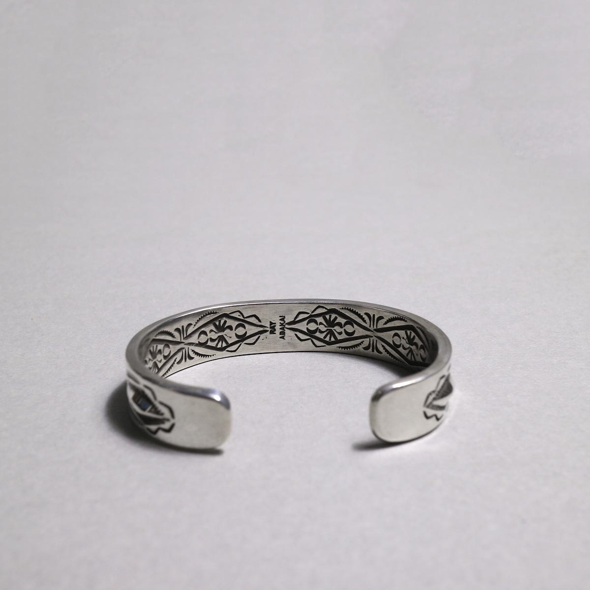 RAY ADAKAI / Double Stamp Bracelet (B)内側スタンプ