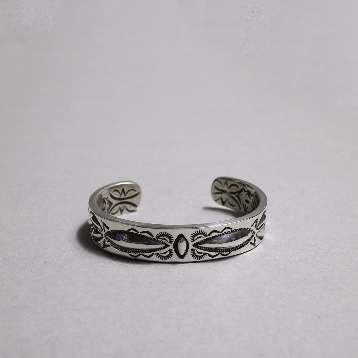 RAY ADAKAI / Double Stamp Bracelet (C)正面