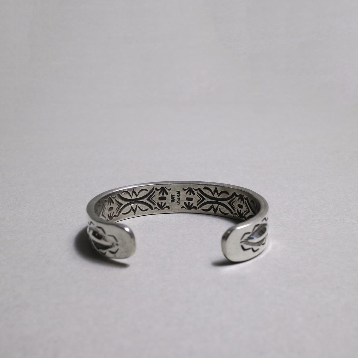 RAY ADAKAI / Double Stamp Bracelet (C)内側スタンプ