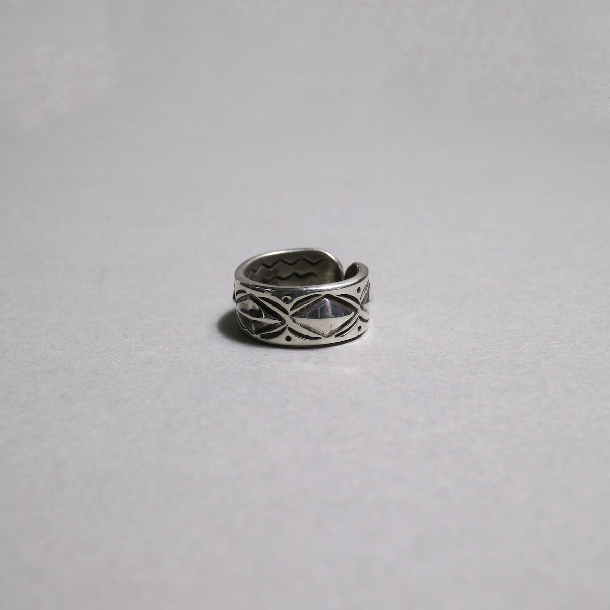 RAY ADAKAI / Double Stamp RIng (A)