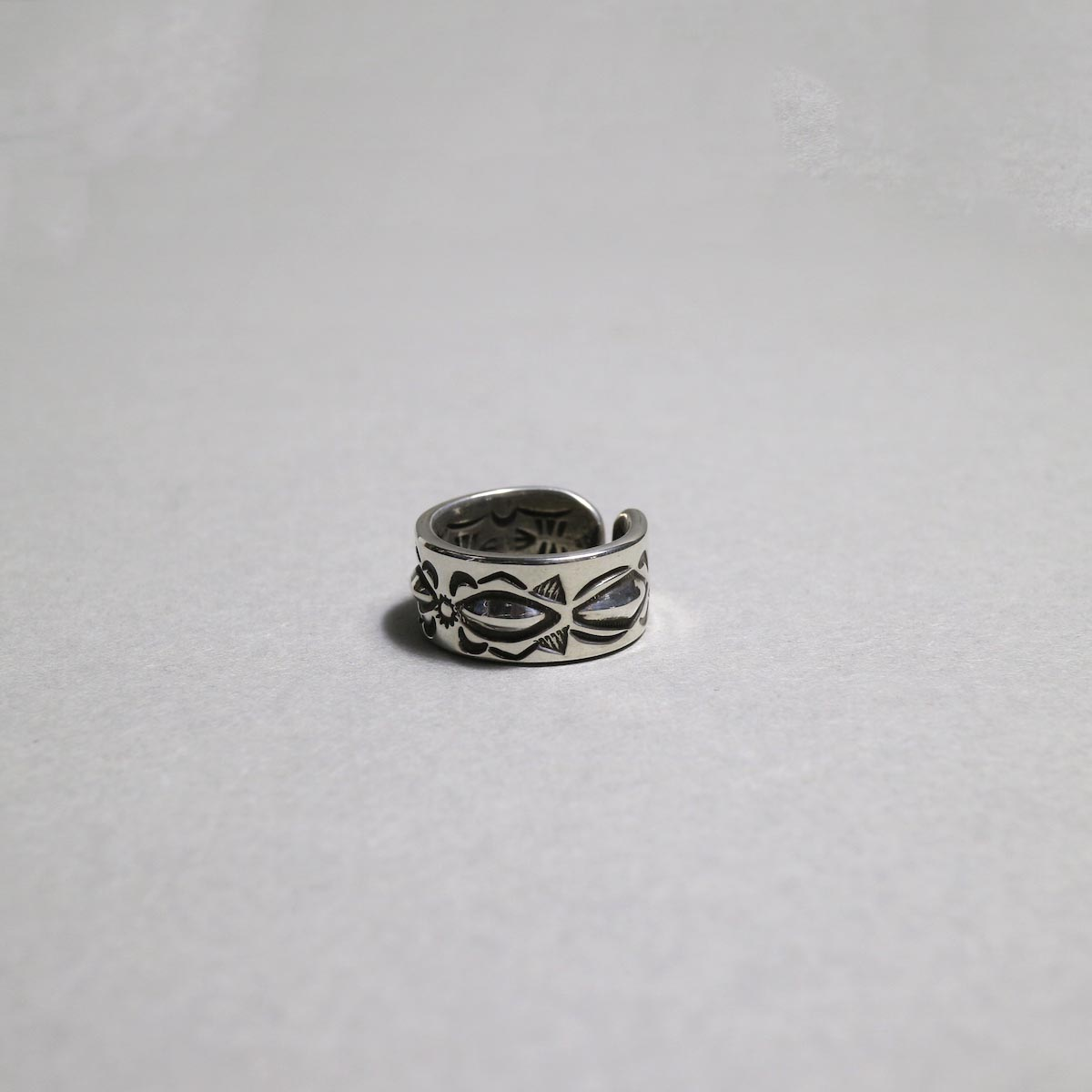RAY ADAKAI / Double Stamp RIng (B)