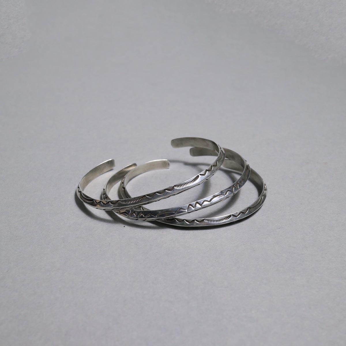 RAY ADAKAI / Triangle Bracelet Narrow (Mens)