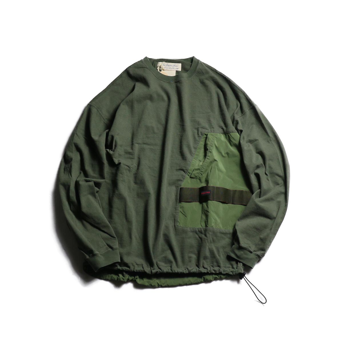 BRIEFING x REMI RELIEF / ブリーフィングL/S② (Khaki)