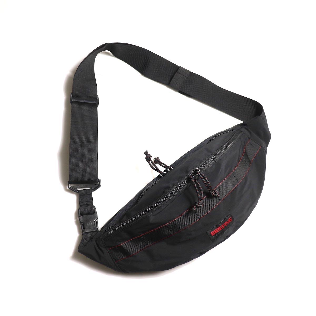 REMI RELIEF × BRIEFING / トライポッドSLパッカブル ウエストバッグ