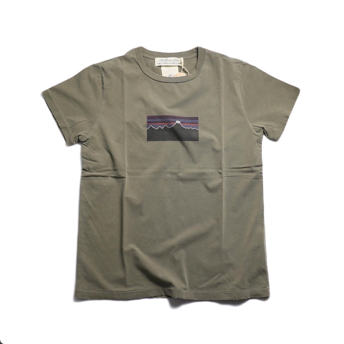 REMI RELIEF / SP加工T (富士山) -Khaki