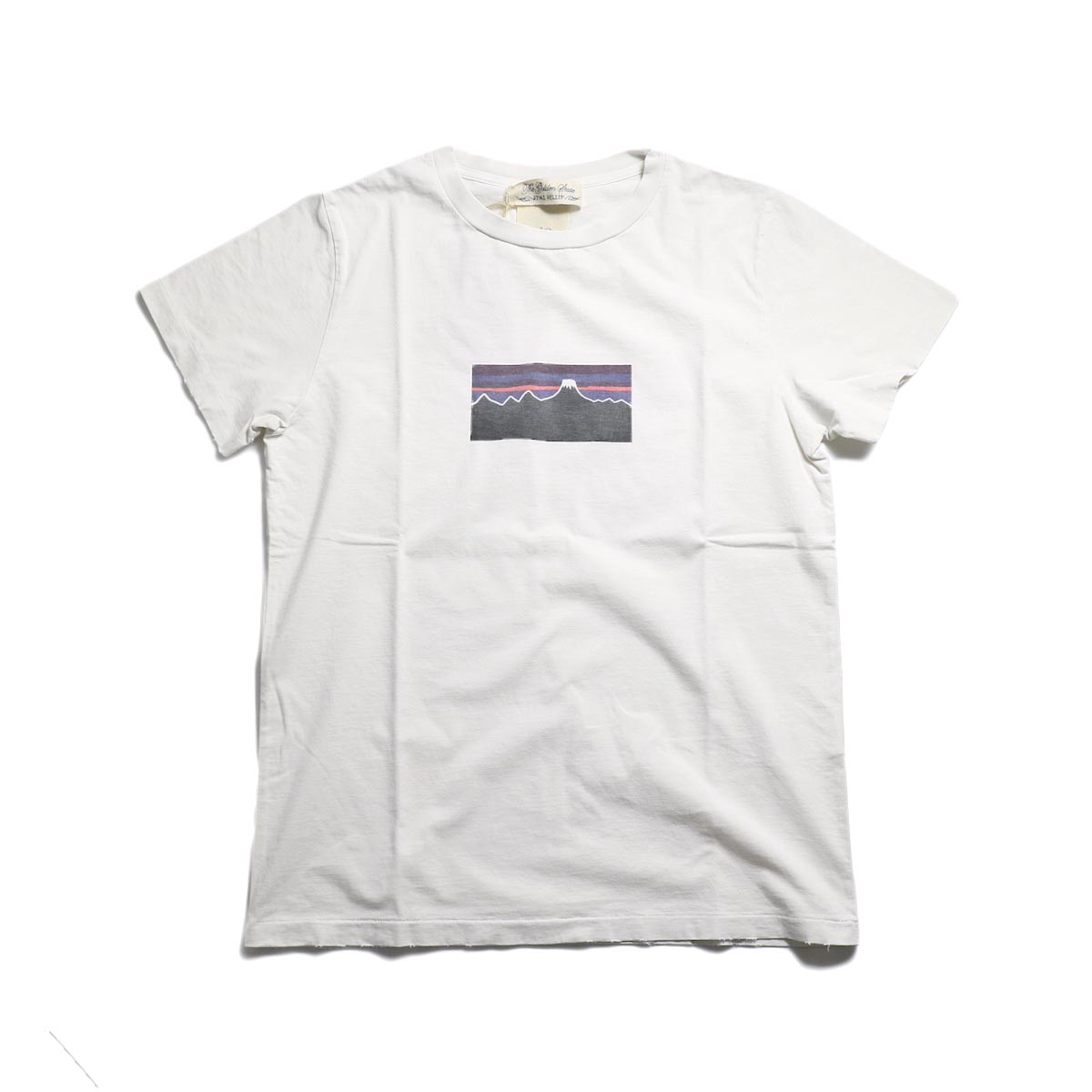 REMI RELIEF / SP加工T (富士山) -Off White