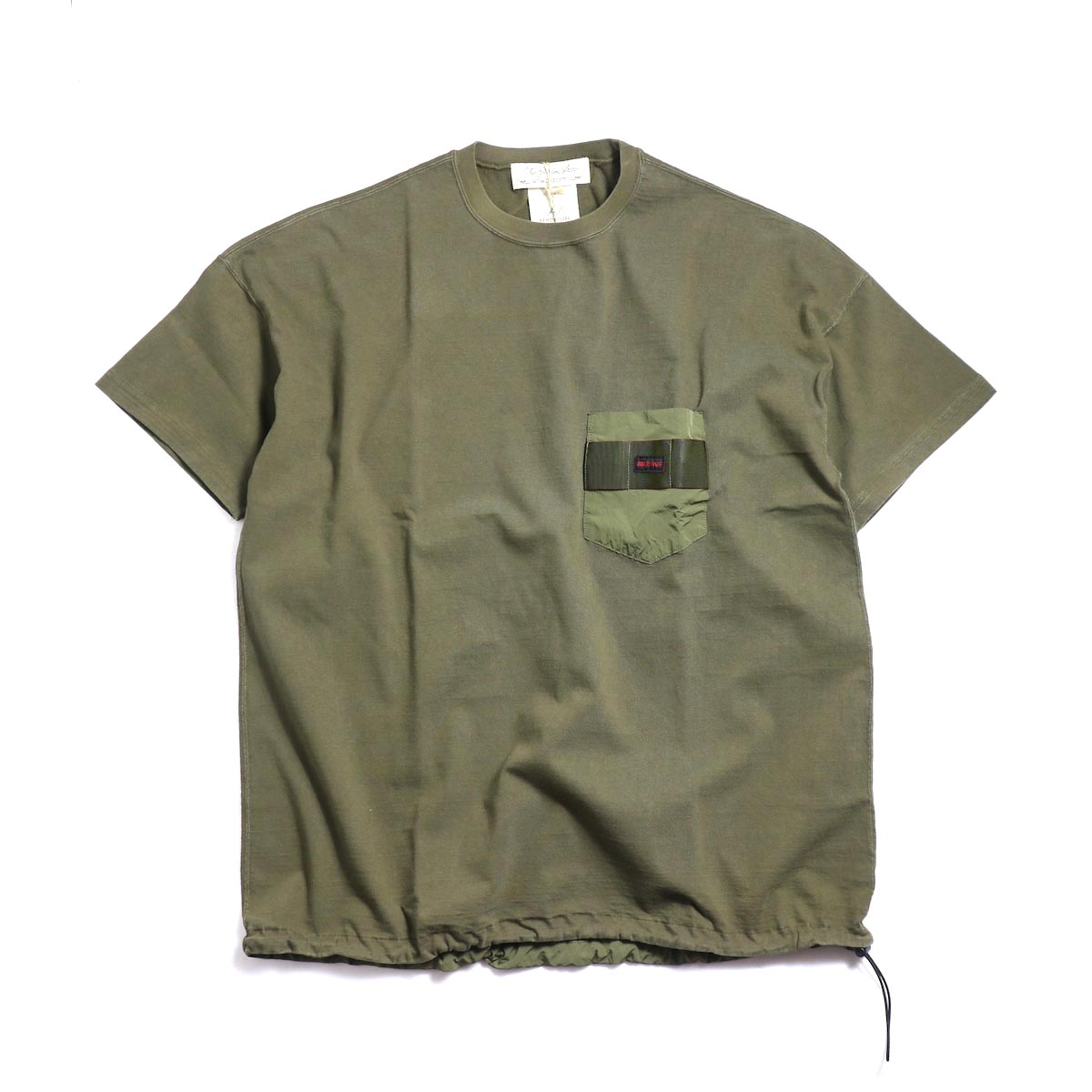 REMI RELIEF × BRIEFING / S/S Pocket Tee -Khaki