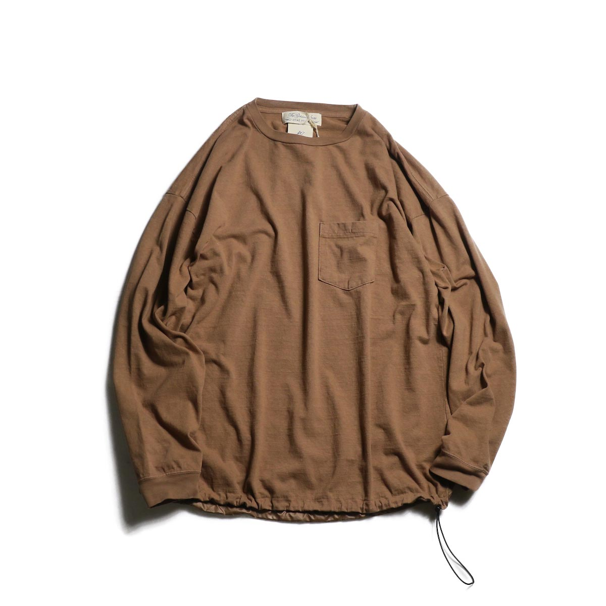 REMI RELIEF / 16/-天竺×ポリエステル ロンT (Brown)