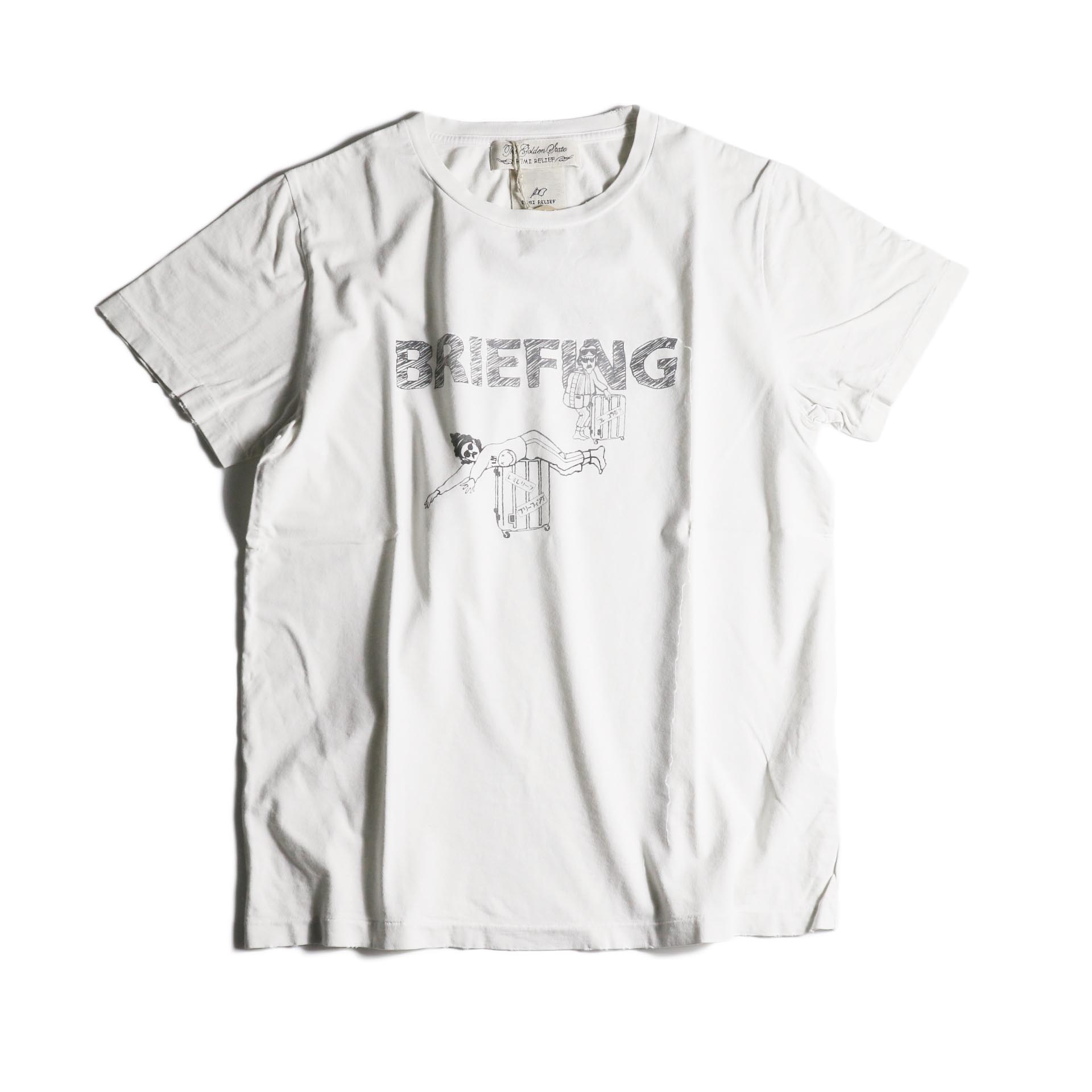 REMI RELIEF / スペシャル加工T(BRIEFING)(OFF)