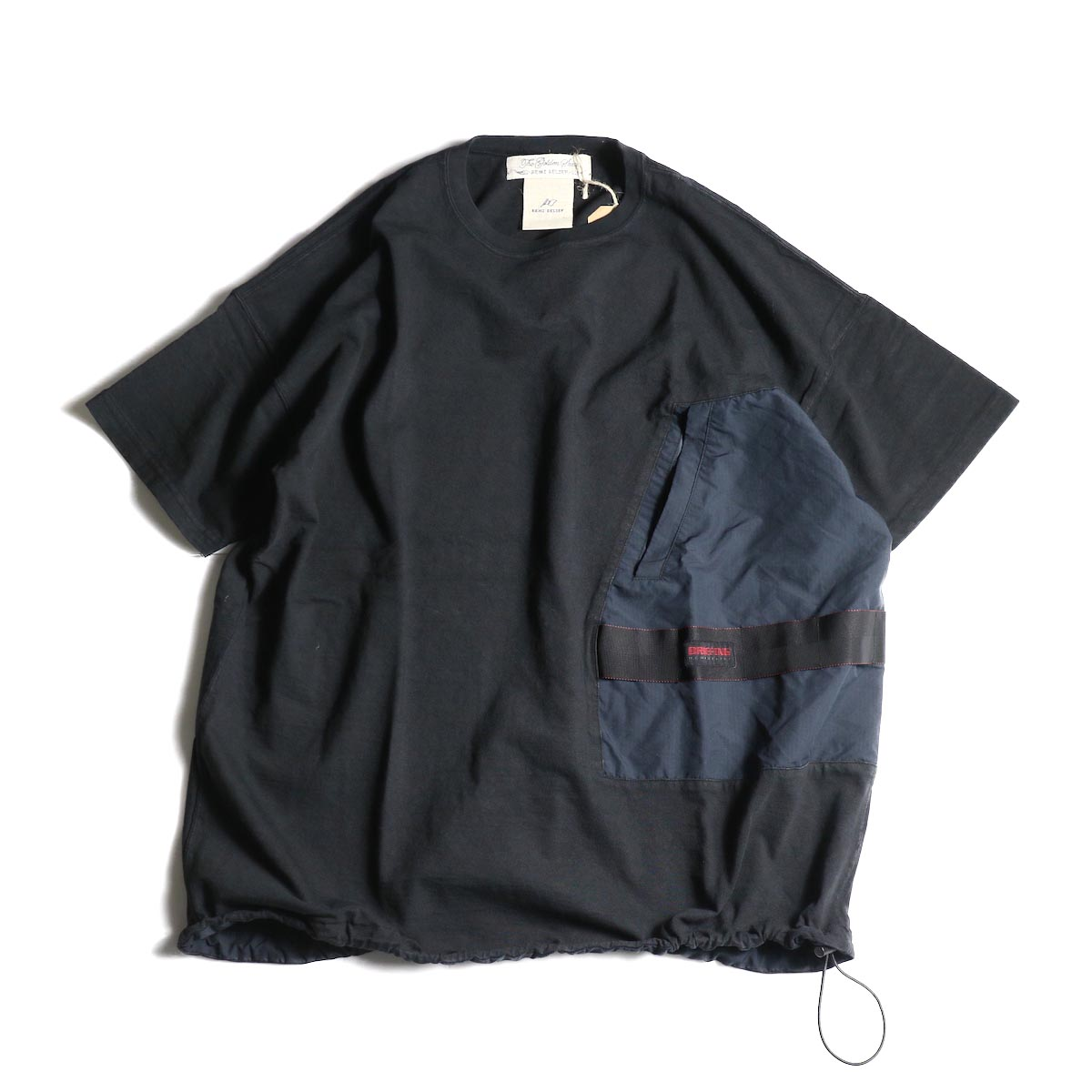 REMI RELIEF × BRIEFING コラボレーションTee ② (Black)